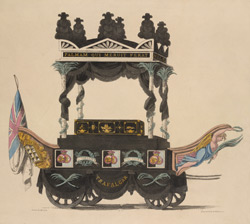 (The Funeral Car of our late Vice Admiral  Horatio Viscount Nelson)